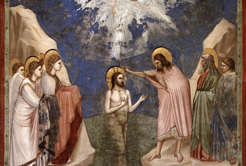 Comme Jésus priait, après avoir été baptisé, le ciel s'ouvrit (Lc 3 ,  1 5 – 1 6.21 – 22)