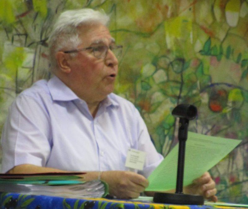 Intervention du Père Clément JUNG lors de l'AG VEA 2019 LA JOIE DU CHRIST