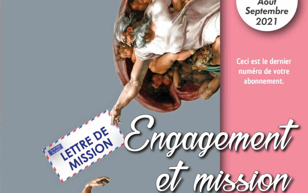 VE 441 Août-Septembre 2021 Engagement et Mission