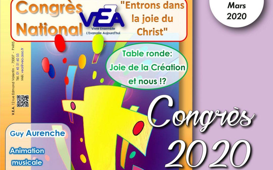 VE 429 Mars 2020 Congrès 2020